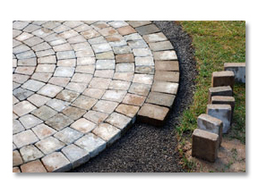Brick Paving Patio